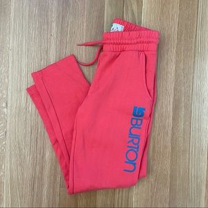 Burton Girls Coral Sweatpants L